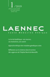 """Revue Laennec - """"Vers une nouvelle révision de la loi de bioéthique"""""""